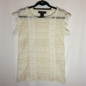 Isabel Marant lace top cream color size 0